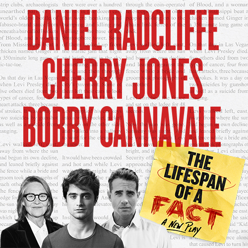 The Lifespan of a Fact Tickets | Broadway Inbound