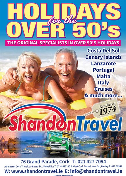 Holidays for the over 50s