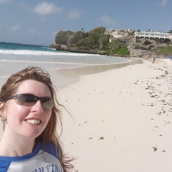 Lisa Loving Barbados!
