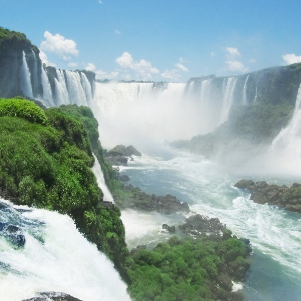 Iguassu Falls - Brazil and Argentina