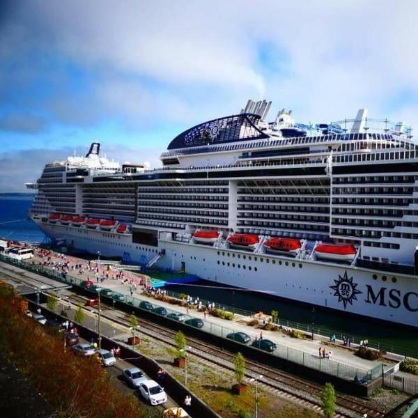 Ship Visit: MSC Meraviglia In Cobh