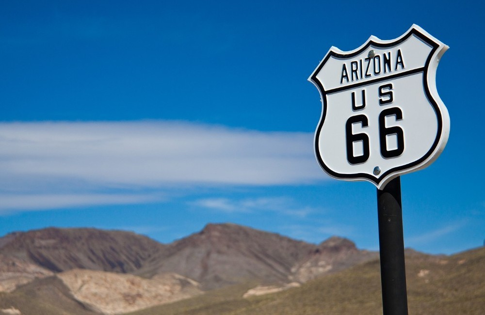 Route 66-Chicago to LA