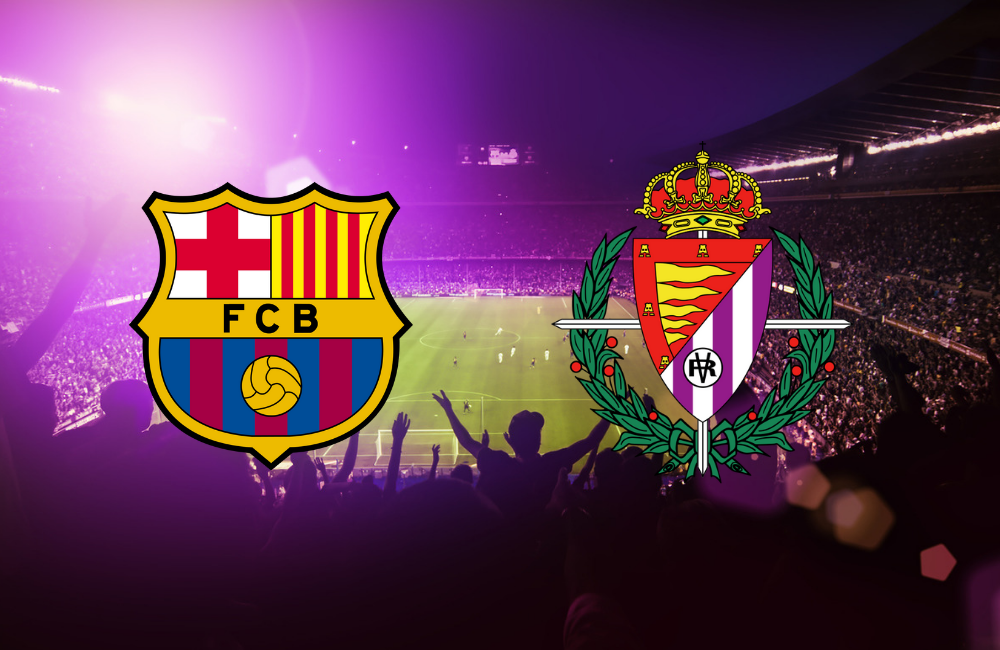 Barcelona V Valladolid 30th October 2019