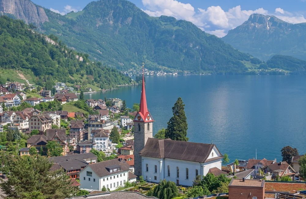 Switzerland- Scenic Rail Journey