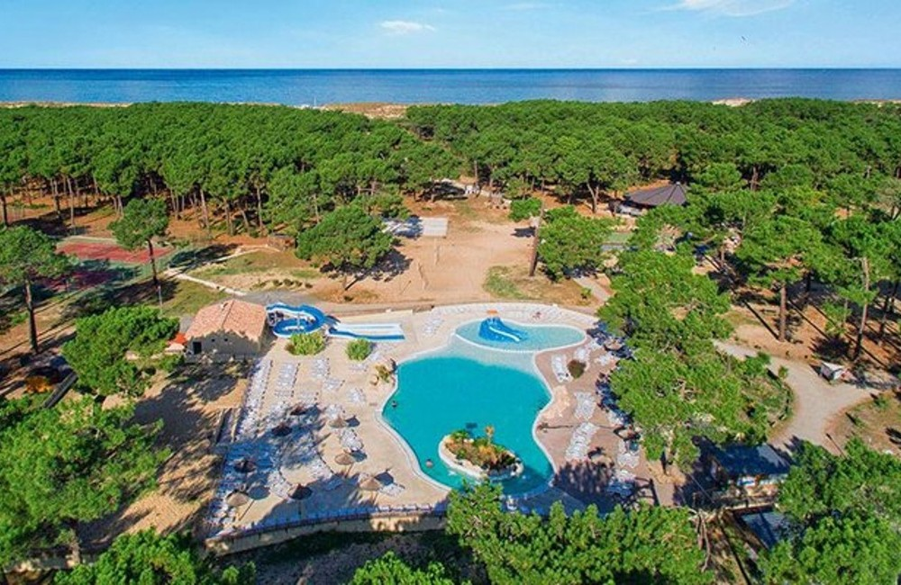 France: Gironde- Camping Atlantic Club Montalivet