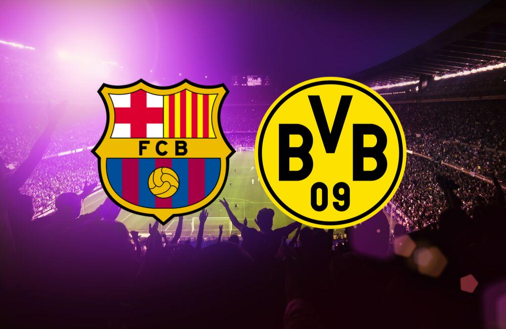 ผลการค้นหารูปภาพสำหรับ Barcelona vs Dortmund graphic