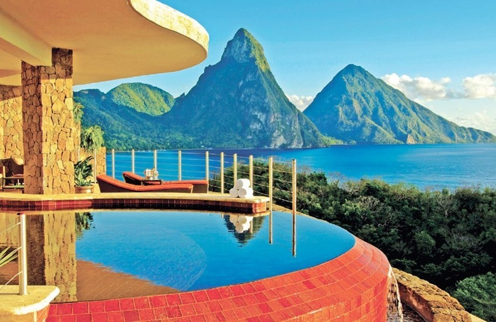 St Lucia- Jade Mountain Resort