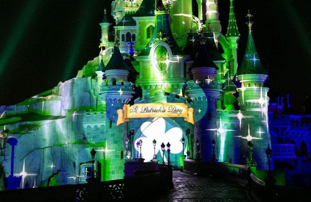 Disneyland Paris-St. Patrick's Day 2020