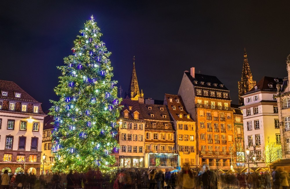 Strasbourg Christmas Market.Strasbourg Christmas Market European City Breaks Shandon