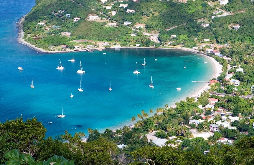 Holiday in british virgin islands